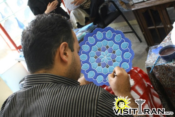 Isfahan is known for its handicrafts and arts