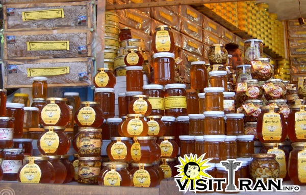 Natural honey of Ardebil