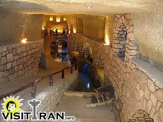 The Underground city and Qanat network of Kariz