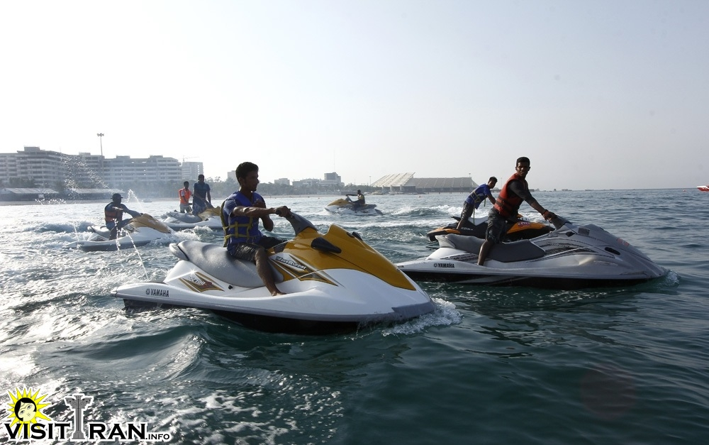 Try the jet ski while in Kish!
