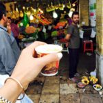 A shot of espresso in the Bazar  Photo by Farahnaz